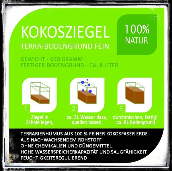 7 kokosfaser blumenerde ziegel ergibt 56 liter torffrei. Black Bedroom Furniture Sets. Home Design Ideas